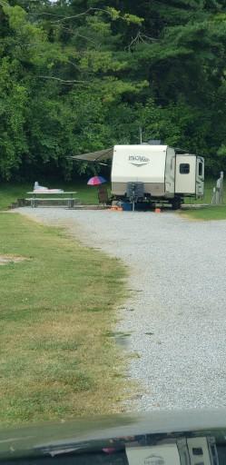 Douglas Dam Headwater Campground Sevierville Tennessee